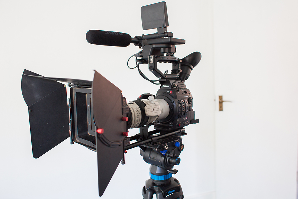 Our Canon C300 Mkii