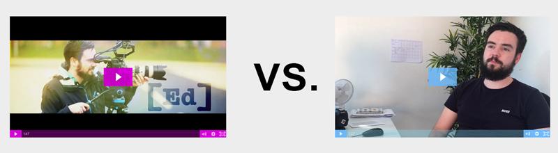 Good vs Bad video production